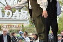 A TáncolKodó néptáncegyüttes műsora