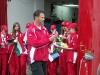 A Pázmándi Tűzoltólányok hazaérkezése az Olimpiáról