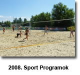 2008 sport programok