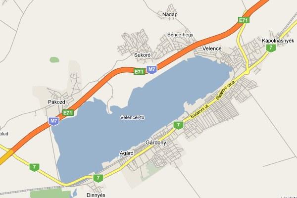 kápolnásnyék térkép Térképek | A Velencei tó hír és turisztikai portálja kápolnásnyék térkép