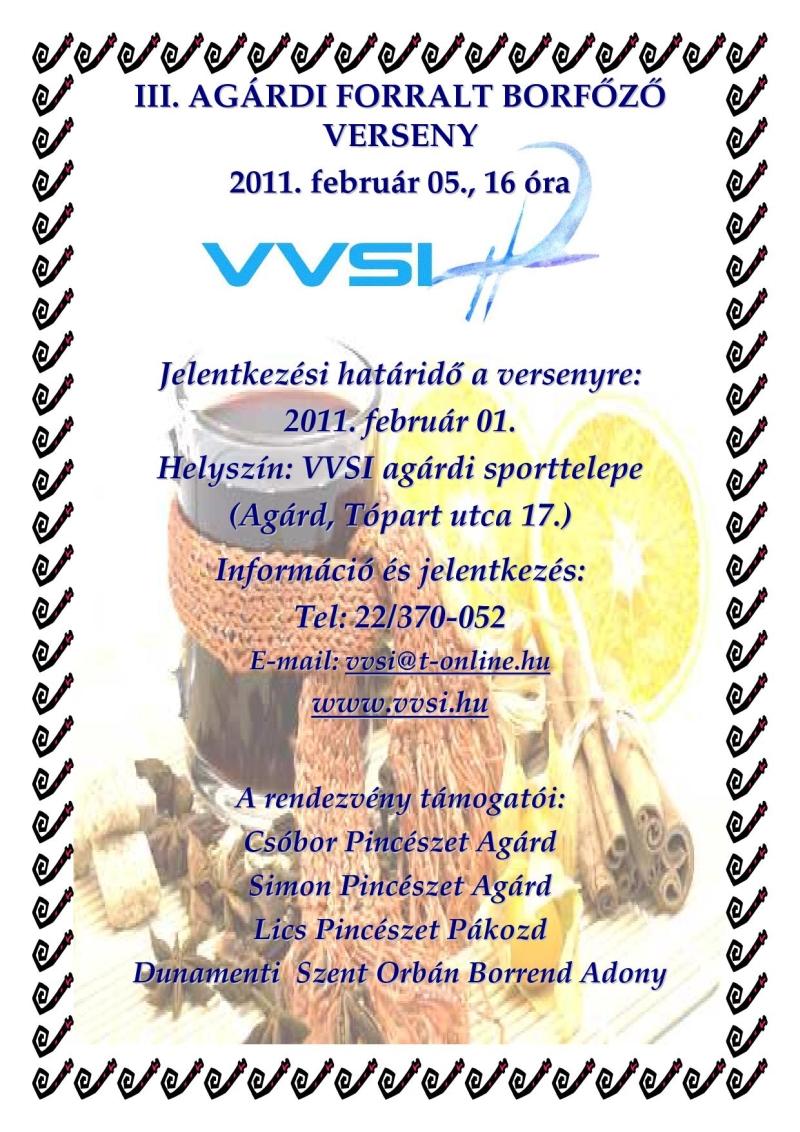 III. Agárdi Forralt Borfőző Verseny - 2011. február 5.