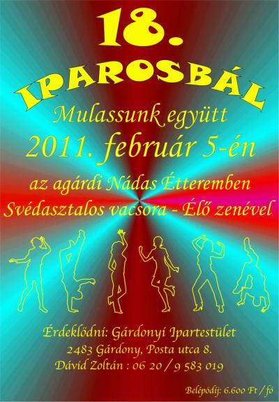 18. Iparos bál - 2011. február 5.