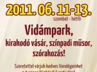 I. Agárdi Pünkösdi Fesztivál - 2011. június 11-13.