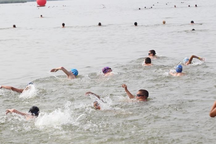Sérült úszók és ökoszemlélet a 2. Sport24 Velencei Tóúszáson