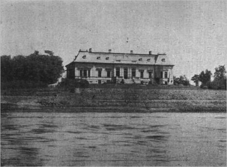 A kastély Annó az 1800-as évek végén