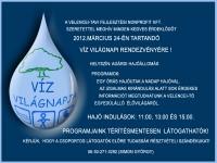 Víz Világnapja Agárdon