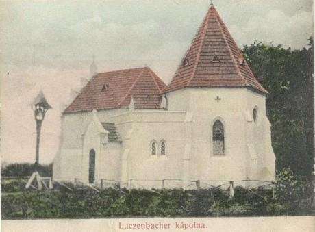 A Luczenbacher-kastély kápolnája Egykor