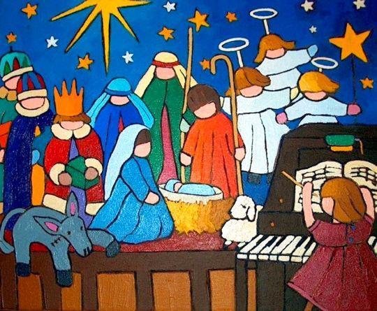 Karácsonyváró Gyertyagyújtás Kápolnásnyéken - 1. gyertya