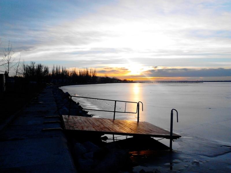 A csodás velencei-tavi naplemente