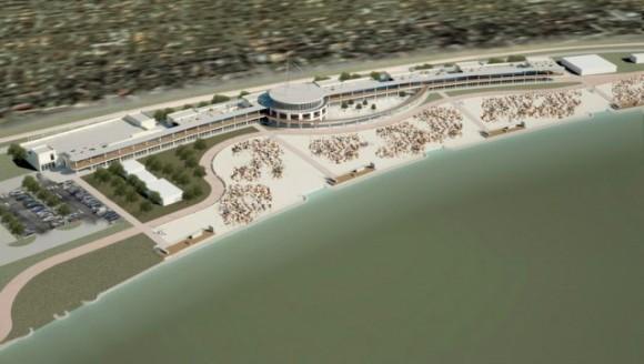 A tervek szerint így fog kinézni a Velencei-tó Kapuja