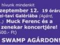 Muck Ferenc és a Swamp koncertje a Velencei-tavi Galériában
