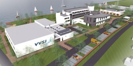 A leendő VVSI látványterve
