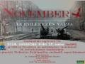 November 4 az emlékezés napja Pázmándon