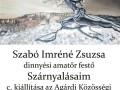 Szabó Imréné Zsuzsa - Szárnyalásaim című kiállítása