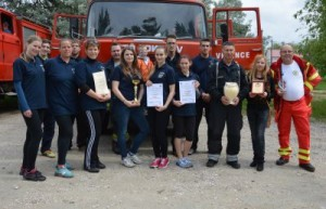 Tűzoltóverseny, felvonulás és bemutató Velencén! – Fotók, videó