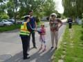 Kerékpárosokat és gyalogosokat ellenőriztek a rendőrök Agárdon