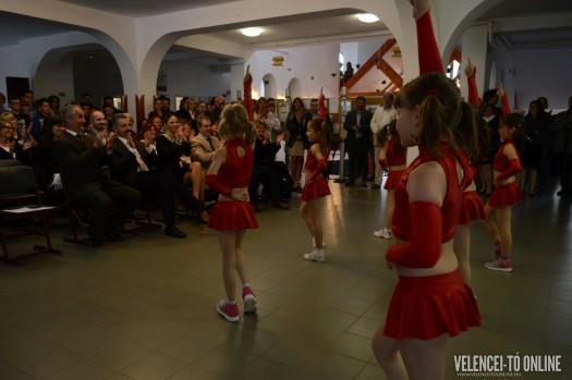 A diákok táncbemutatója