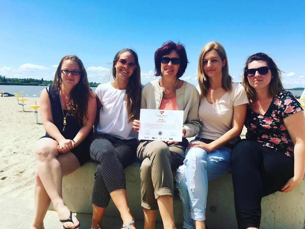 A velencei egyesület munkatársai