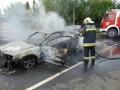 Néhány órán beül két autó is kigyulladt az M7-en – Fotók