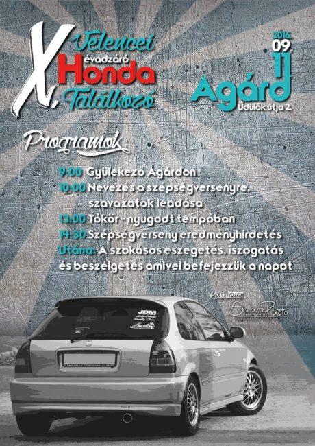X. Velencei Évadzáró Honda Találkozó @ Tini Strand parkolója