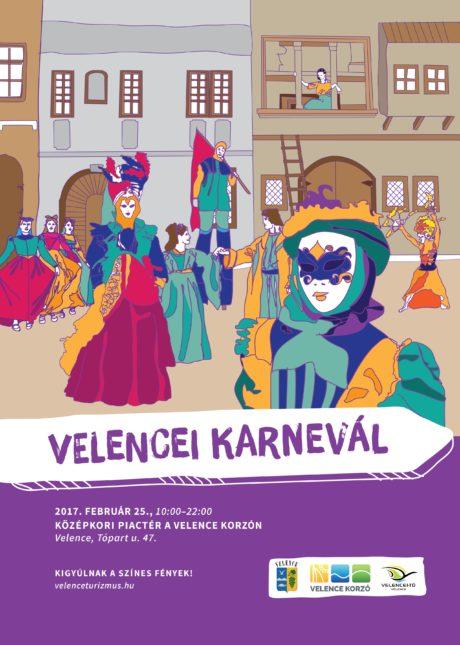 Velencei Karnevál a Velence Korzón @ Velence Korzó