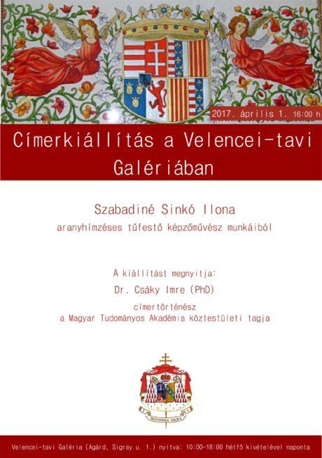 Címerkiállítás Agárdon @ Velencei-tavi Galéria