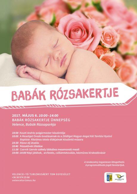 Babák Rózsakertje ünnepség Velencén @ Babák Rózsakertje