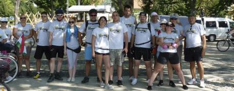 RenBike Tour Velencei-tó @ Napsugár Strand bejárata