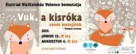 Vuk, a kisróka - Velence Víziszínház @ Velence Korzó Tetőterasz
