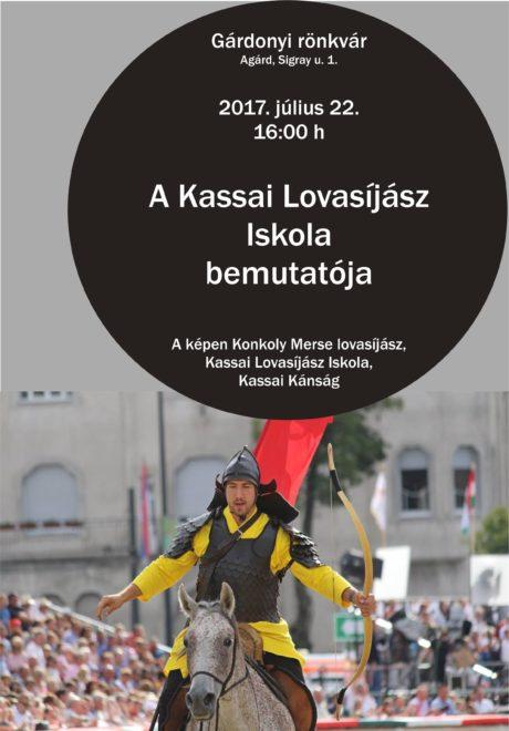 A Kassai Lovasíjász Iskola bemutatója Agárdon @ Gárdonyi Rönkvár