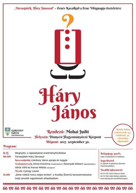 Társasjáték Háry Jánossal Dinnyésen @ Dinnyési Hagyományőrző Központ