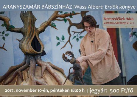 Wass Albert: Erdők könyve előadás Gárdonyban @ Nemzedékek Háza