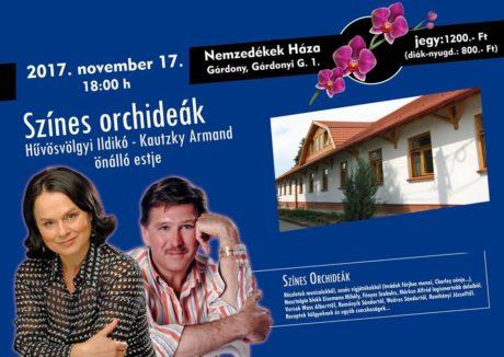 Színes orchideák színházi est Gárdonyban @ Nemzedékek Háza