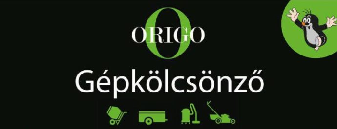 Origo Gépkölcsönző, kisgépkölcsönző - Gárdony, Agárd, Velencei-tó
