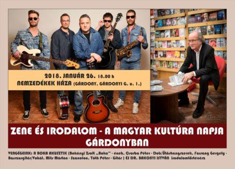 Magyar Kultúra Napja Gárdonyban @ Nemzedékek Háza
