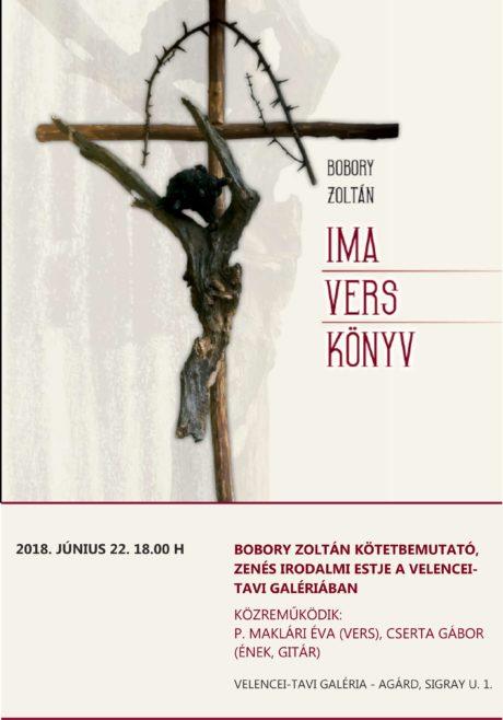 Bobory Zoltán kötetbemutatója Agárdon @ Velencei-tavi Galéria