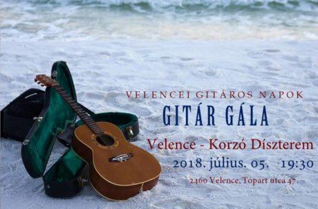 Gitár Gála Velencén @ Velence Korzó