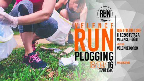 Velence RUN - Plogging @ Velence Korzó