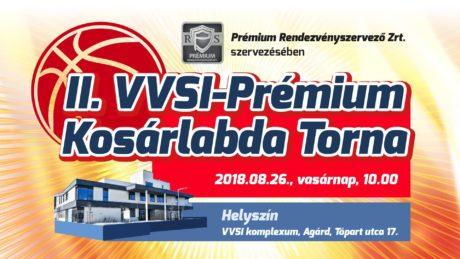 II. VVSI-Prémium Kosárlabda Torna @ Velencei-tavi Vízi Sportiskola VVSI