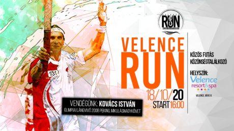 Velence RUN - Közös futás és közönségtalálkozó @ Velence Resort & Spa