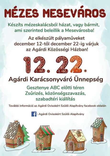 Mézes Meseváros Agárdon - pályázat és kiállítás @ Agárdi Közösségi Ház