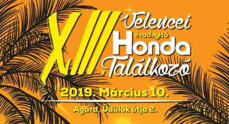 XIII. Velencei Évadnyitó Honda Találkozó @ Szabadstrand