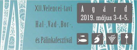 XII. Velencei-tavi Hal-, Vad-, Bor-, és Pálinkafesztivál @ Agárd