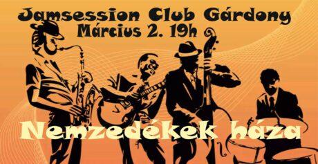 Gárdonyi Jamsession klub @ Nemzedékek Háza