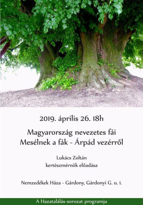 Magyarország nevezetes fái - Előadás a Nemzedékek Házában @ Nemzedékek Háza