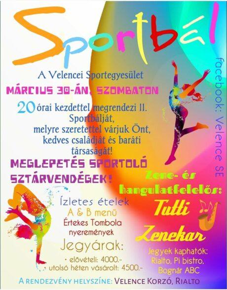 II. Velencei Sportbál @ Velence Korzó