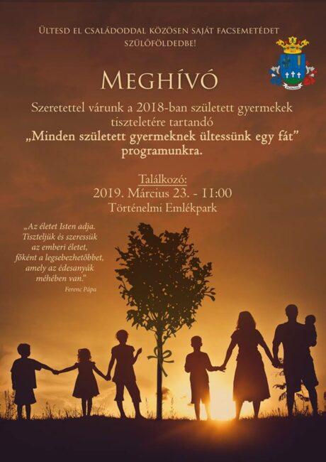 Ültess fát családoddal - Pázmándon @ Történelmi Emlékpark