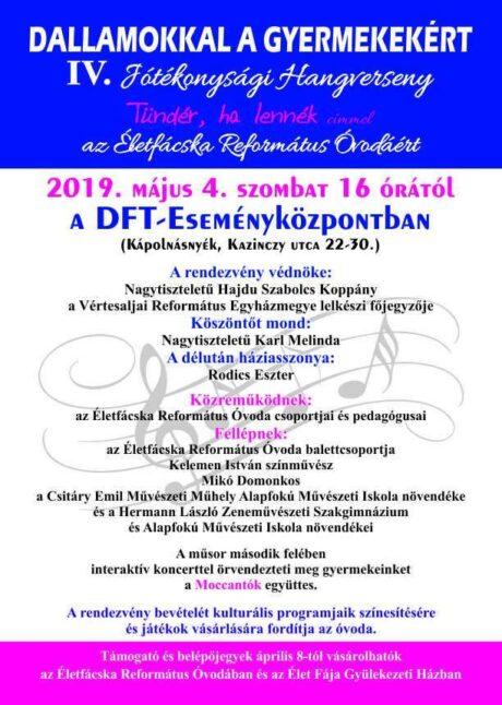 Jótékonysági koncert az Életfácskás gyermekek javára @ DFT - Eseményközpont