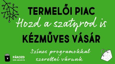 Kézműves és kistermelői vásár Pákozdon @ Pákozdi Kultúrház