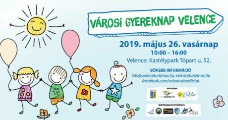 Városi Gyereknap Velence @ Kastélypark